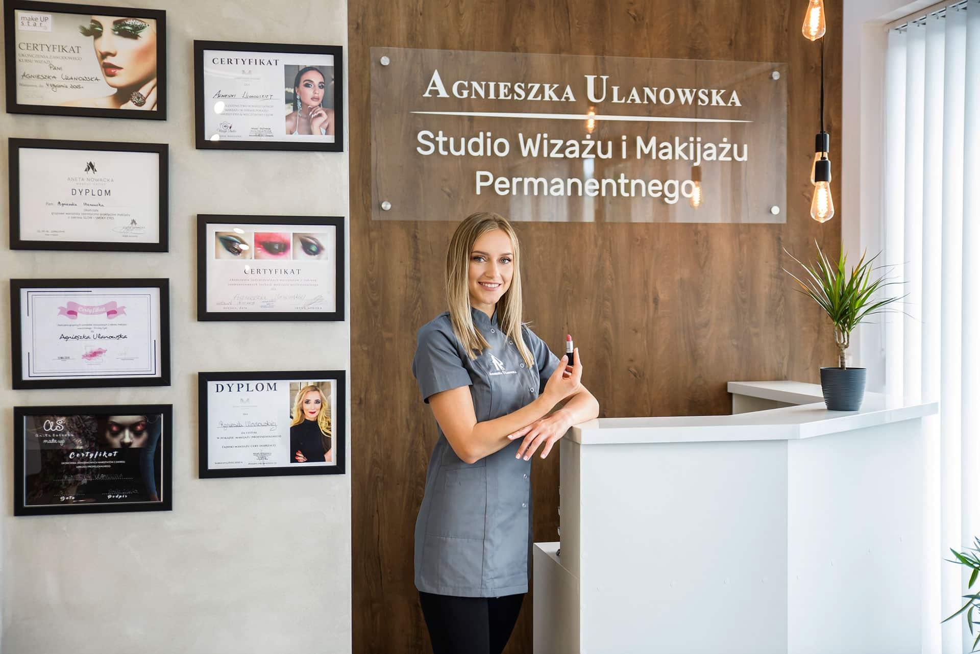 Studio Wizażu i Makijażu Permanentnego Agnieszka Ulanowska
